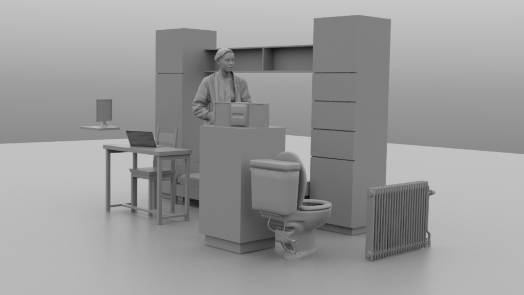 VR-in-a-Box Merksplas | 4 cel Fatima